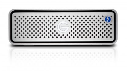 G-Drive Thunderbolt3 front head on