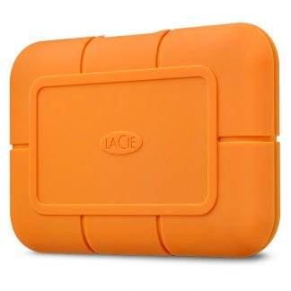 Lacie rugged ssd left